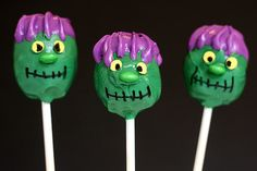 15 Spookalicious #Halloween Cake Pops