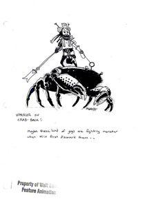 Mike Mignola's Otherworldly Concept Art For Disney's Atlantis