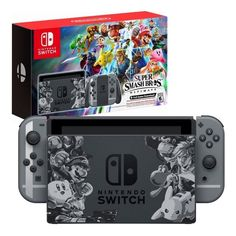 Nintendo Switch Super Smash Bros Brothers Ultimate Console Bundle Buy Nintendo Switch Pikachu & Eevee Edition with Pokemon Let's Go, Pikachu! Find great deals for the Nintendo Switch Pikachu & Eevee edition. Nintendo Switch Pokemon Games, Video Game Nintendo, Buy Nintendo Switch, Nintendo Switch System, Pc Gaming Desk, Gaming Headset, Mario Kart 8, Bros Brothers, Super Smash Bros Characters