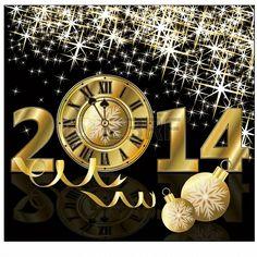 Golden New Year 2014!