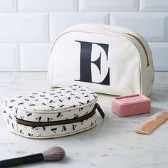 Initial Make Up Bag <3