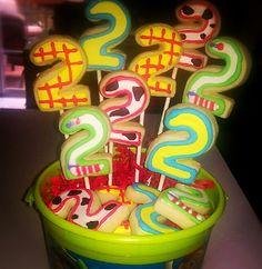 1st Birthday Cookies LEGO Cookies Princess Party Cookies Purple Zebra Birthday Cookies Cake Push Pops NEW!...