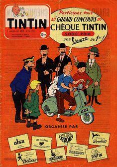 """Participez tous au """"Grand concours"""" du chèque Tintin !"""