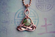 yoga jewelry Little Jade Yogi pendant by lemuriandiamond on Etsy, $30.00