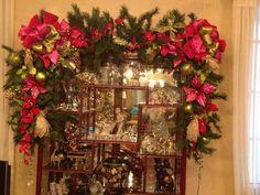 vitrina decorada- navidad