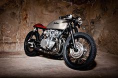 Suzuki GS550 Cafe Racer Tintin by Mellow Motorcycles #caferacer #motorcycles  #motos   caferacerpasion.com                                                                                                                                                                                 Más