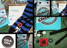 Cognitio Melphicta: Click-Clix, il bottone multiuso e mai più calzini & C.o sparigliati