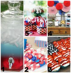 4th of July Party Ideas via @Bounce Energy