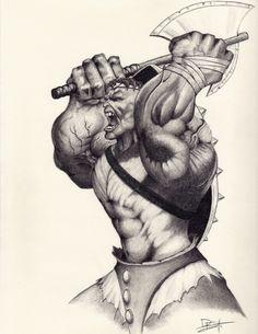 Planet Hulk Sold Comic Art