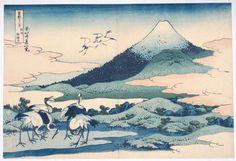 MT FIJI | Hokusai: Hundred Views of Mt. Fuji