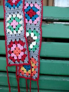 My Rose Valley: Granny Square love - a crochet belt tutorial