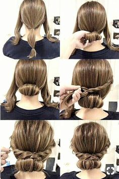 Check out our collection of easy hairstyles step by step diy. You will get hairs. - - Check out our collection of easy hairstyles step by step diy. You will get hairstyles step by step tutorials, easy hairstyles quick lazy girl hair hac. Cute Simple Hairstyles, Pretty Hairstyles, Stylish Hairstyles, Bouffant Hairstyles, Simple Updo, Easy Hairstyles For Work, Easy Wedding Hairstyles, Easy Side Updo, Simple Homecoming Hairstyles