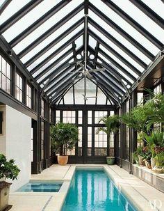 Beautiful Garten Terrasse, Gartenhaus, Fitnessraum, Pool Im Garten,  Schwimmen, Wintergarten,