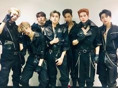 Monsta X are finally making their presence felt in South Korea. The group just racked up 4 consecutive wins at some of the most significant platforms. Hyungwon, Yoo Kihyun, Monsta X Minhyuk, Lee Minhyuk, Monsta X Funny, Fandom, Jiyong, Stage Outfits, Kpop Outfits