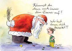 Peter Gaymann Postkarte Wer hat Dich denn gecastet