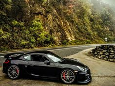 #Porsche #Cayman GT4 looking slick. #SportsCar #Speed #Power #Style #Design #Cars #CarShowSafari