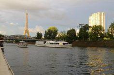 Houseboat in Paris city center