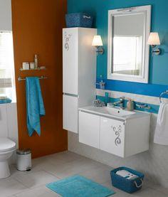 Luna Banyo Dolabı #banyo #bathroom #banyodolabi