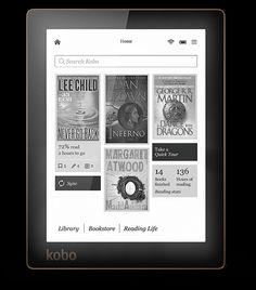 Kobo Aura H2O   Kobo   10.0% Double Cash Back on purchases through Ebates.ca