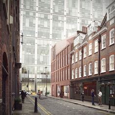 Blossom Street Development; 19 | 02 | 2015 Blossom Street Planning Application  Duggan Morris Architects are working as part of a collaborative team of award winning architects and landscape designers including AHMM (masterplanner and lead architect