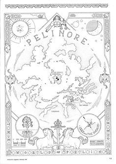 Pelinore world map