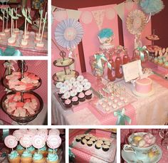 tea party - I really love pink...haha...I'm not even that girly = P #blush_pink #party