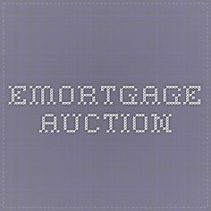 eMortgage auction: mortgage solutions