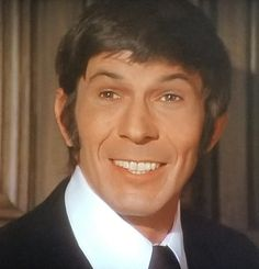 Leonard Nimoy as Paris in Mission Impossible smile