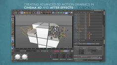 "Premium tutorial No 5 : Creating Advanced 3d motion graphics in Cinema 4d and After effects , "" CUBICAL "" Project"
