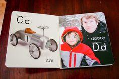 A Custom ABC Board Book - One Dog Woof