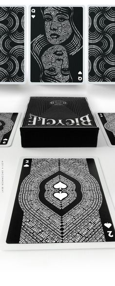 USPCC Printed -The Black Book Manifesto Playing Card Deck by UnCommon Beat — Kickstarter