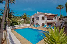 SAVE with Coupon code: KrjfpLVbfiHxTQQ booking valid from 12-04-2021 to 19-06-2021 expires on 06-19-2021 #costablanca #holidayspain #villa #benissa #calpe #moraira #turisol Moraira, Villa With Private Pool, Spain Holidays, Coupon, San, Mansions, House Styles, Outdoor Decor, Coupons