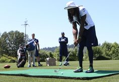 Tuesday Round-Up: Richard Sherman, Seahawks Get Golf Lesson From Pro Jason Dufner | Seattle Seahawks
