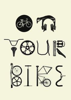 Bici illustrazioni del giorno Make sign to accompany hanging rack.