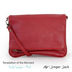 Temptation of the Moment. Jinger Jack KUALA LUMPUR in Red! #NiceThingsOnEarth #UniversalEleganceDESIGNEDinCapeTown #KualaLumpur #Temptation #Style Pouch, Wallet, Kuala Lumpur, Leather Bag, In This Moment, Lady, Style, Swag, Sachets