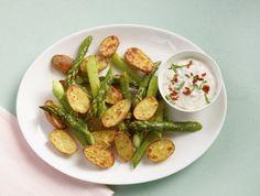 Ofenkartoffel mit Spargel - Rezepte: Grüner Spargel - 7 - [ESSEN  TRINKEN]