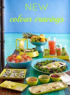 New  Summer 14/15 colours! Loving the zesty, citrus tones!