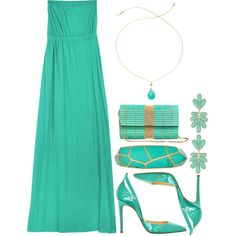 Seafoam Green by bethany-lowe on Polyvore