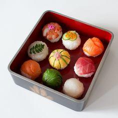temari sushi #Sushi #Sushimi