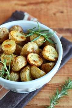 Simple Herb Roasted Potatoes