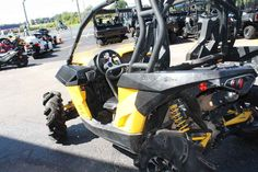 Used 2014 Can-Am Maverick 1000R X mr ATVs For Sale in Missouri. 2014 Can-Am Maverick 1000R X mr, Industry-Leading Performance 101-hp Rotax® 1000R V-Twin engine & dual exhaust Intelligent Throttle Control (iTC) Continuously Variable Transmission (CVT) with Zylon®-reinforced belt 625-W Magneto Relocated Engine Air Intake & CVT Inlets/Outlets Precision-Engineered Handling Air Control Suspension (ACS) with FOX Air Assist Shocks TTA Independent Rear Suspension with 14 of Travel Tri-Mode Dynamic…