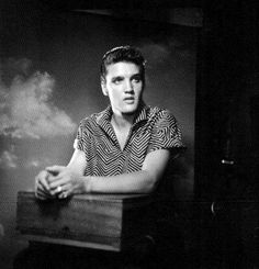 Publicity picture taken by R.C.A Victor in late august 1956 .