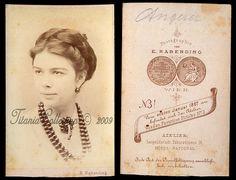 Fanny Angerer ~ Sissi's hairdresser