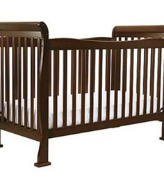 A metal bracket that connects the mattress support to the crib can break, creating an uneven sleeping surface or a gap. If this occurs, a baby can become entrapped in the crib, fall or suffer lacerations from the broken metal bracket.  The recall includes DaVinci brand full-size cribs including the Reagan crib