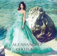 Wedding Dress 2014 Alessandro Angelozzi Couture. Testimonials: Elisabetta Canalis