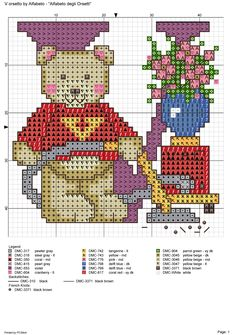 alfabeto degli orsetti : V