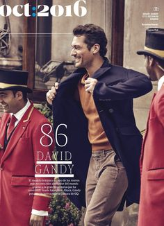 "Magazine Covers ""David Gandy for GQ Mexico - October 2016"""