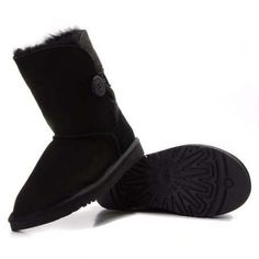 Ugg Bailey Button Boots 5803 Black