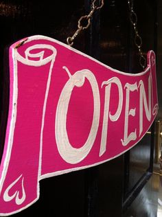 76 best open signs images in 2018 Closed Signs, Open Signs, Ileana D'cruz, Stall Signs, Sign Fonts, Shop Signage, Southern Boutique, Bedroom Crafts, Sign Image