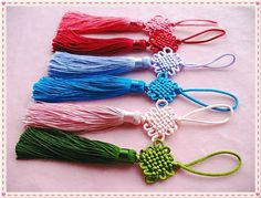 6pieces- Rainbow color Fringe/Macrame/spike/Tassel nice chinese style decor for purse making(purse bag metal frame)